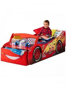 Disney Biler Lynet McQueen Junior børneseng (140cm)